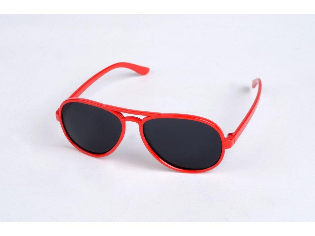 Polarizační DĚTSKÉ brýle červené P4489