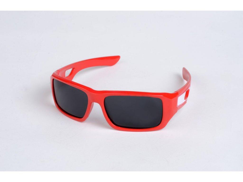Polarizační DĚTSKÉ brýle červené P4484