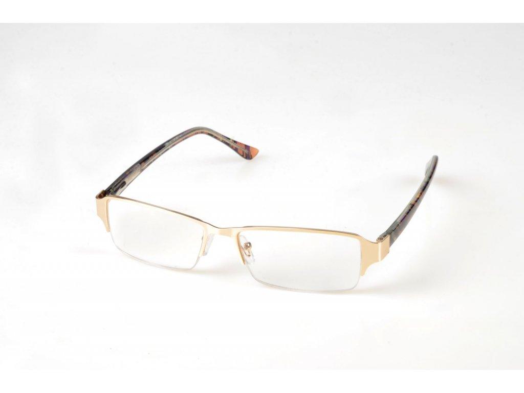 Dioptrické brýle 1699 kovové obroučky  +2,50