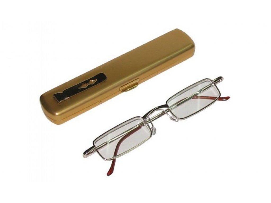 Dioptrické brýle KOKO 33R /  +4,00 s pérováním + pouzdro