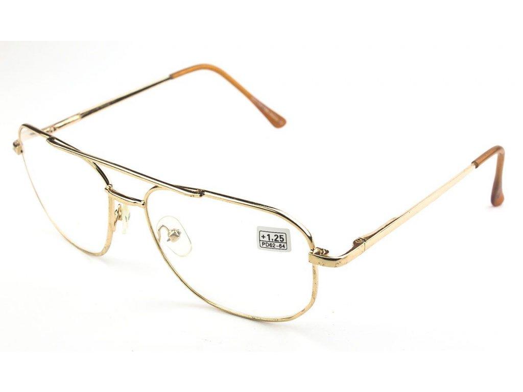Dioptrické brýle BOSHI 8982 SKLO / +3,50 s pérováním