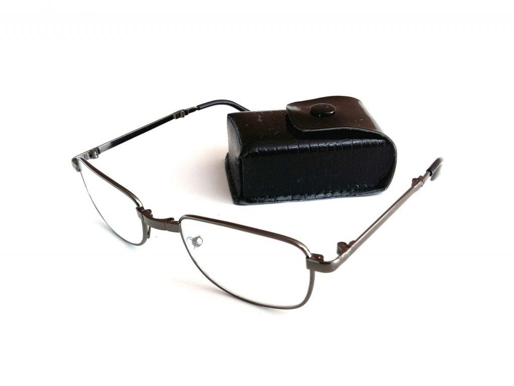 SKLÁDACÍ dioptrické brýle PD 62-64  +2,50