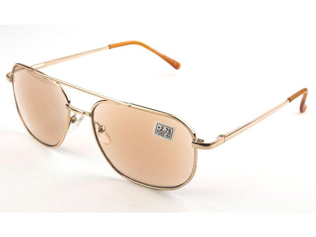 Samozabarvovací dioptrické brýle 8982 vakko  +2,50
