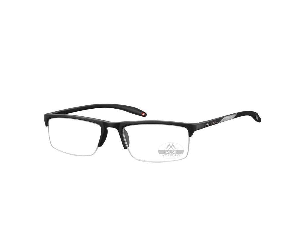 MONTANA EYEWEAR Dioptrické brýle Lihhtweight MR81 BLACK+3,00