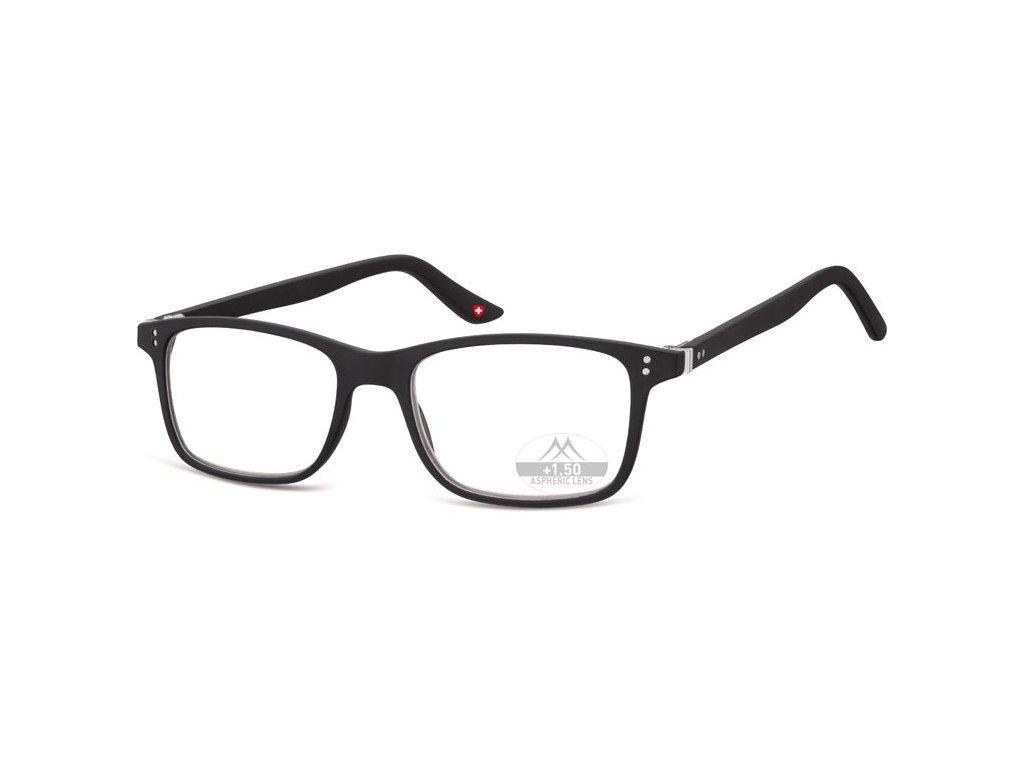 MONTANA EYEWEAR Dioptrické brýle Lihhtweight MR72 BLACK+2,00