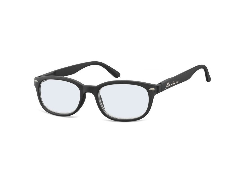 MONTANA EYEWEAR Dioptrické brýle na počítač BLF70 BLACK+2,50