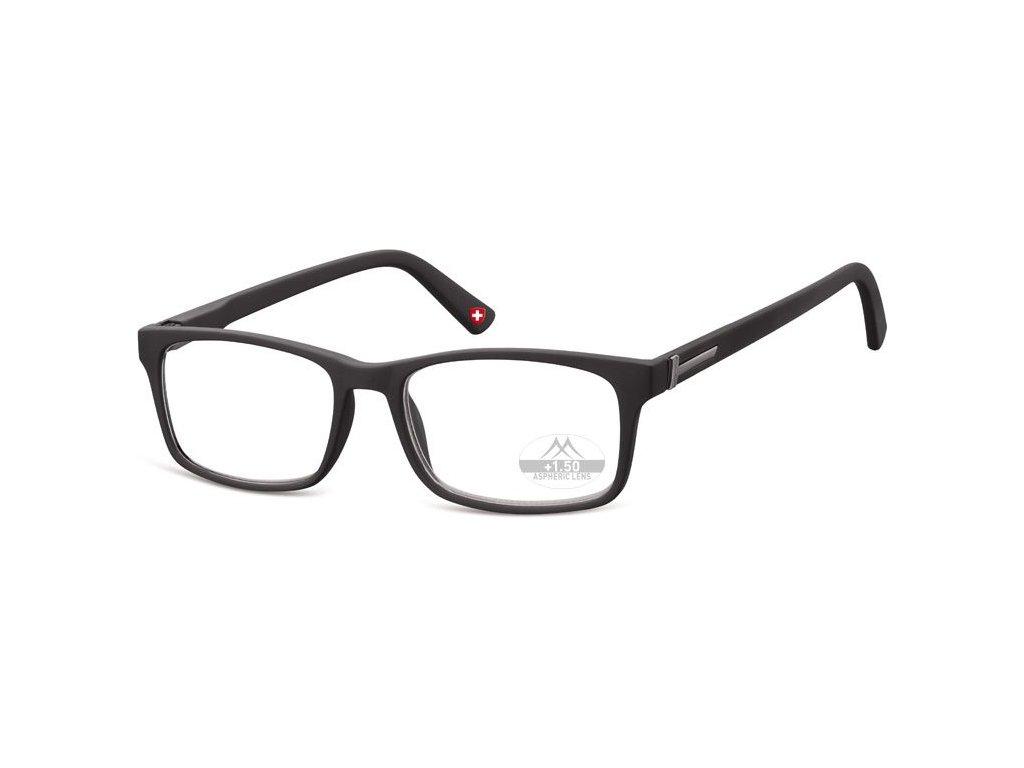 MONTANA EYEWEAR Dioptrické brýle Lihhtweight MR73 BLACK+3,50