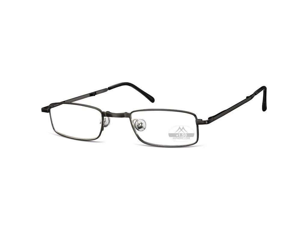 SKLÁDACÍ dioptrické brýle RF25B BLACK+1,50