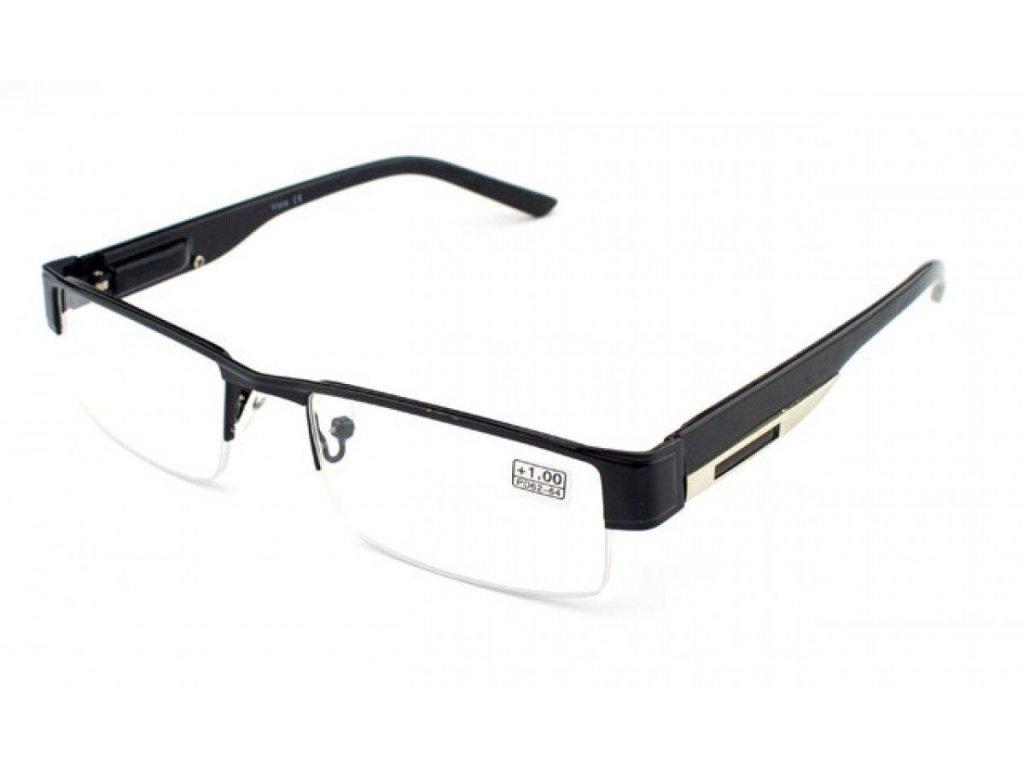 Dioptrické brýle Vista 9035 / +2,50 černý
