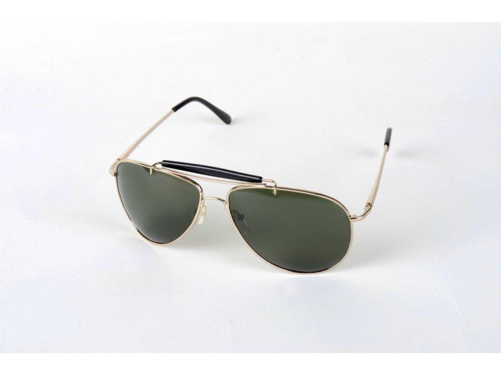 Polarizační brýle 3017 tmavozelené čočky Cat.3 na denní vidění pro řidiče