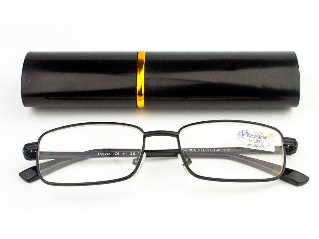 Dioptrické brýle v pouzdru Vizzini 03-0084-H01/ +0,75