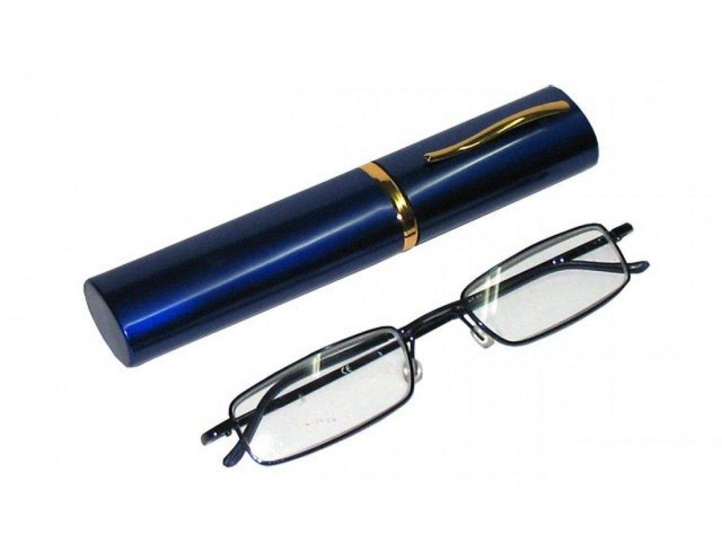 Dioptrické brýle v pouzdru Koko 2134/ +3,25 modrý