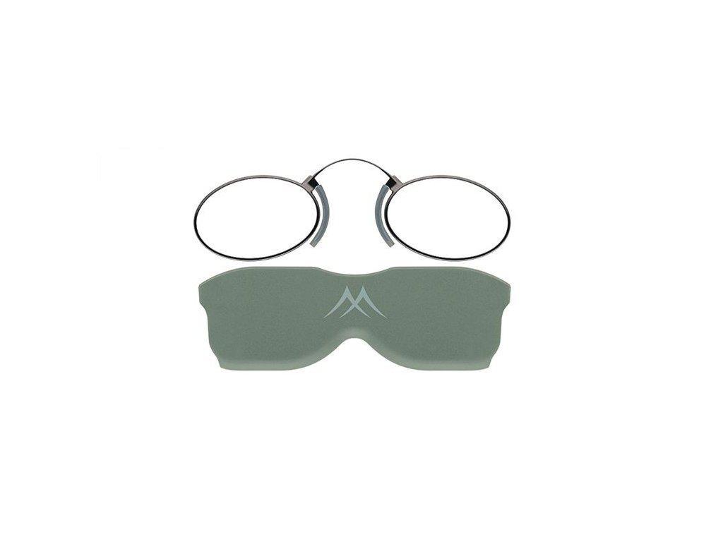 MONTANA EYEWEAR Nosní dioptrické brýle na čtení NR2B +2,00 cvikr