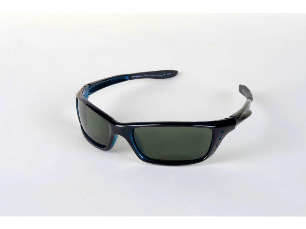 Polarizační brýle 4002 tmavozelené čočky ČMO Cat.3
