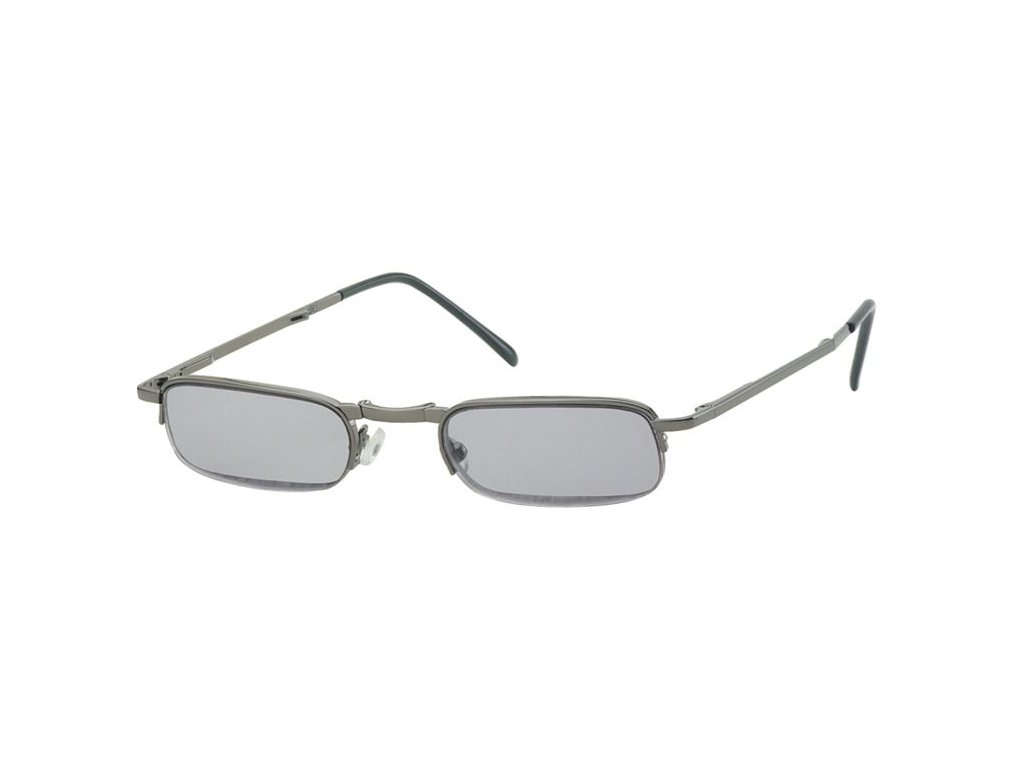 SKLÁDACÍ dioptrické brýle RF24AS zatmavené +1,00