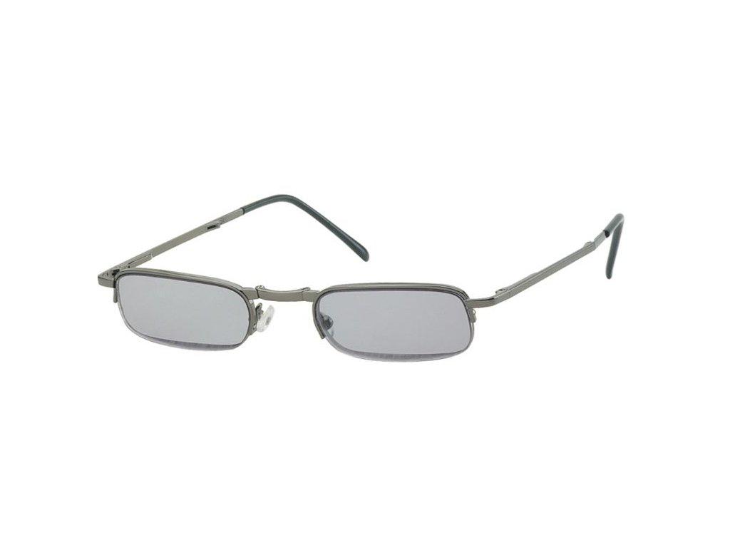 SKLÁDACÍ dioptrické brýle RF24AS zatmavené +4,00