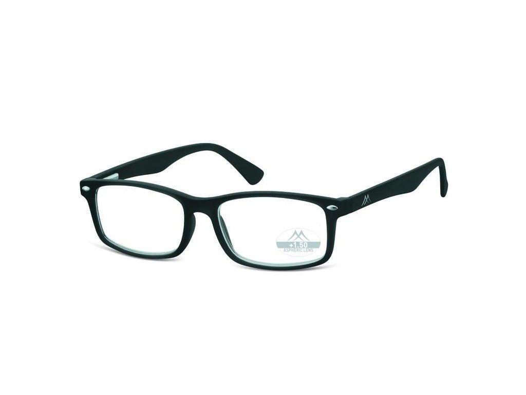 MONTANA EYEWEAR Dioptrické brýle Lihhtweight  MR83 BLACK+3,50