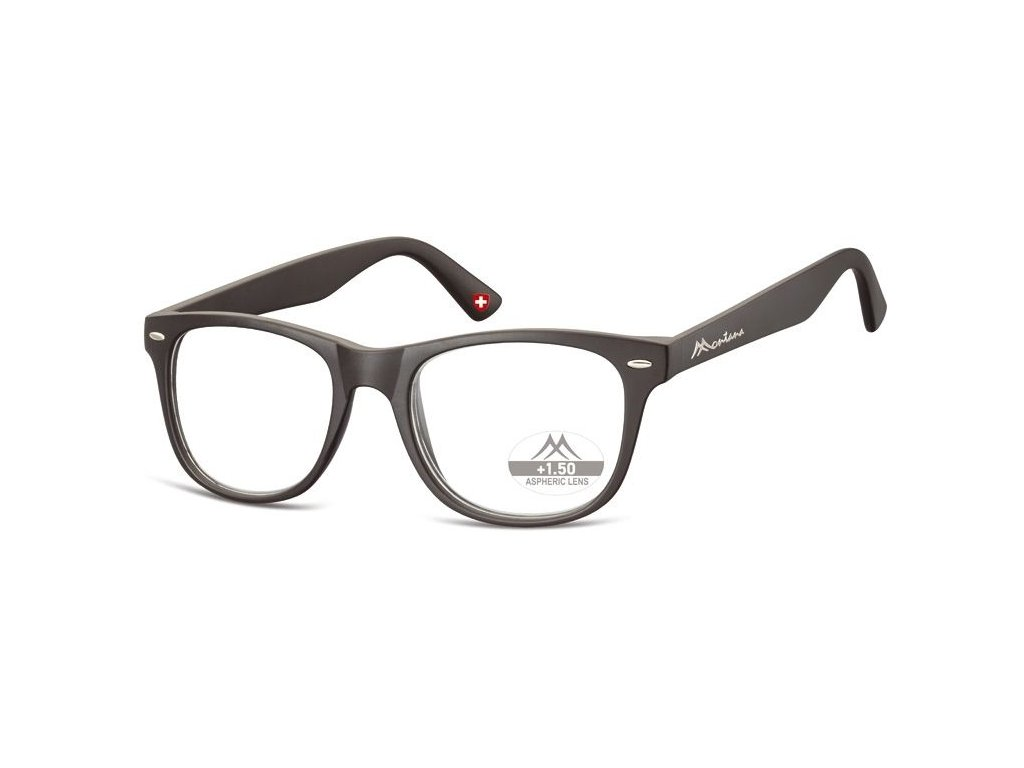 MONTANA EYEWEAR Dioptrické brýle MR67 BLACK+2,00