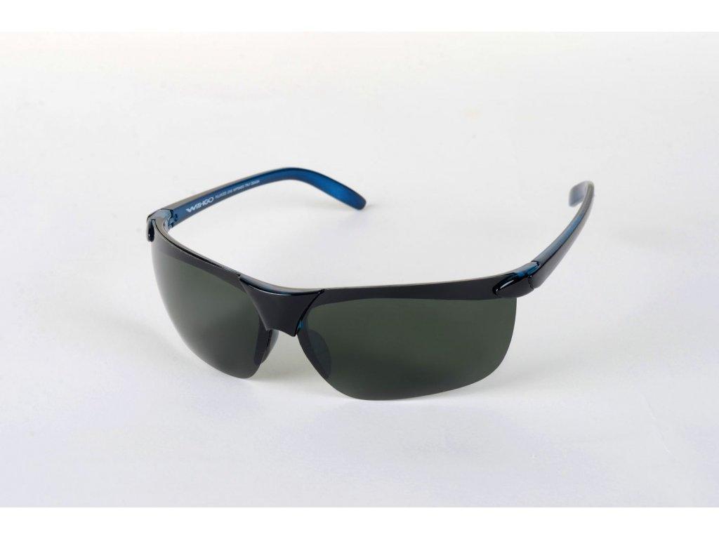 Polarizační brýle 4003 tmavozelené čočky ČMO Cat.3
