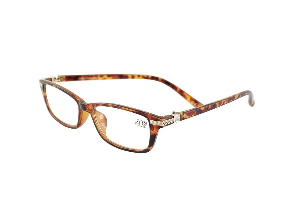 Dioptrické brýle Onelook 050/+1,00  hnědá