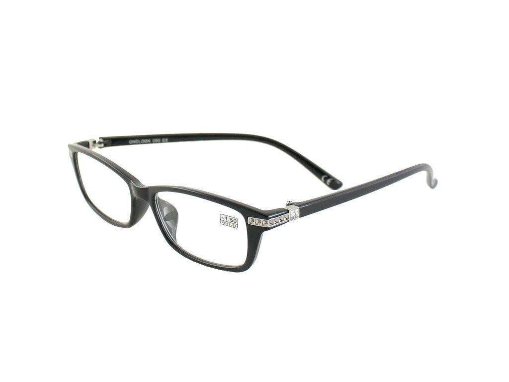 Dioptrické brýle Onelook 050/+4,00 černá