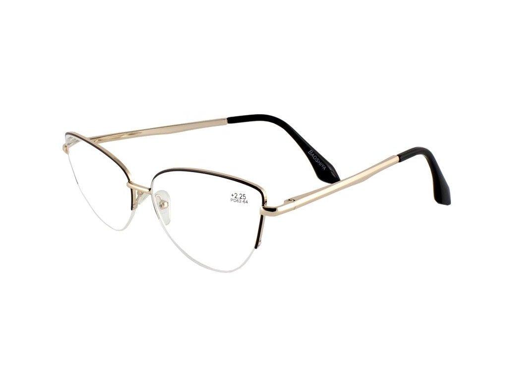 Dioptrické brýle BAOSHIYA 1141/+2,25 gold