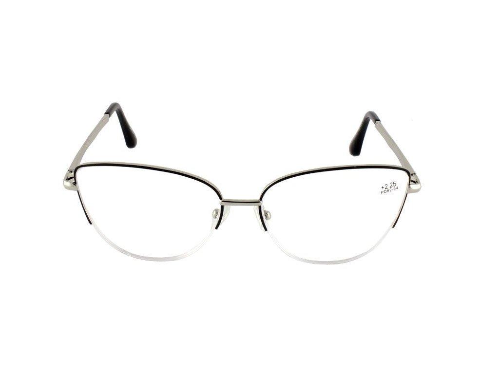 Dioptrické brýle BAOSHIYA 1141/+2,00 silver