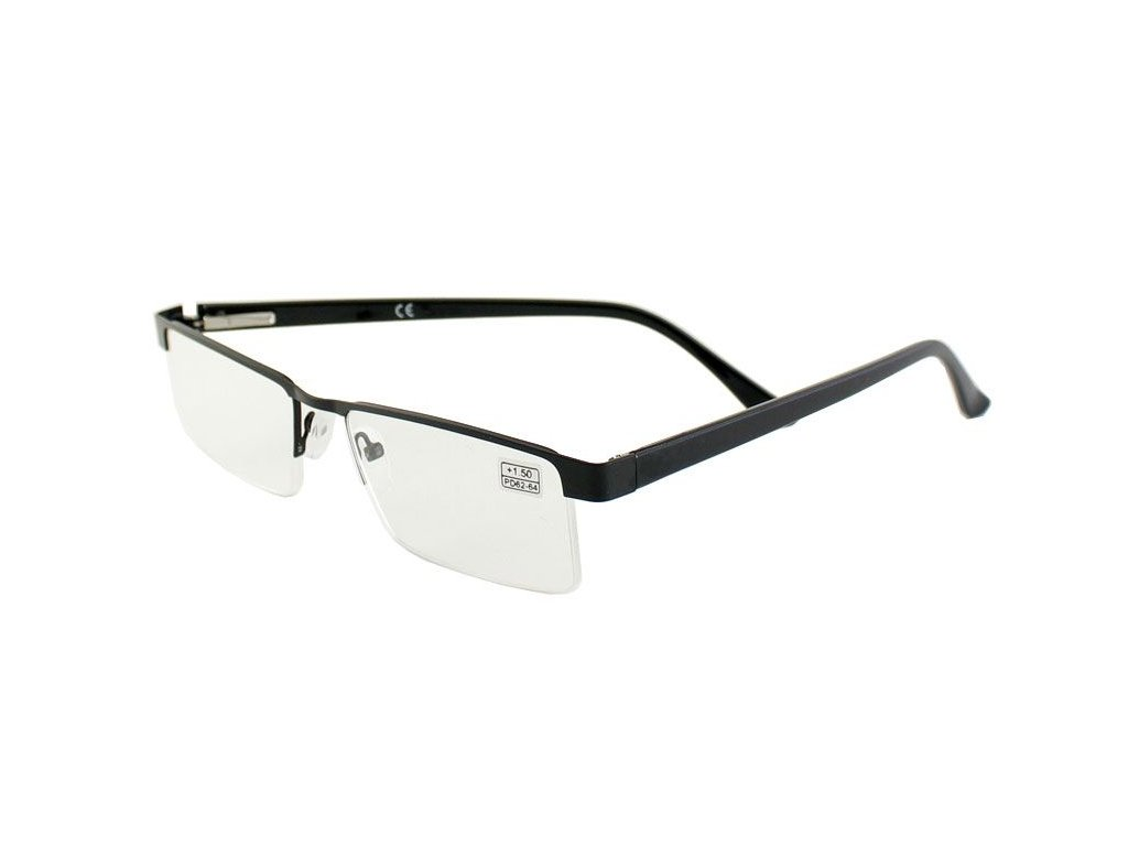Dioptrické brýle B&B 007/+3,50 black
