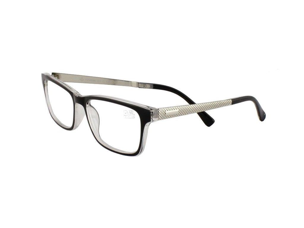 Dioptrické brýle Panorama 017/+2,50 black
