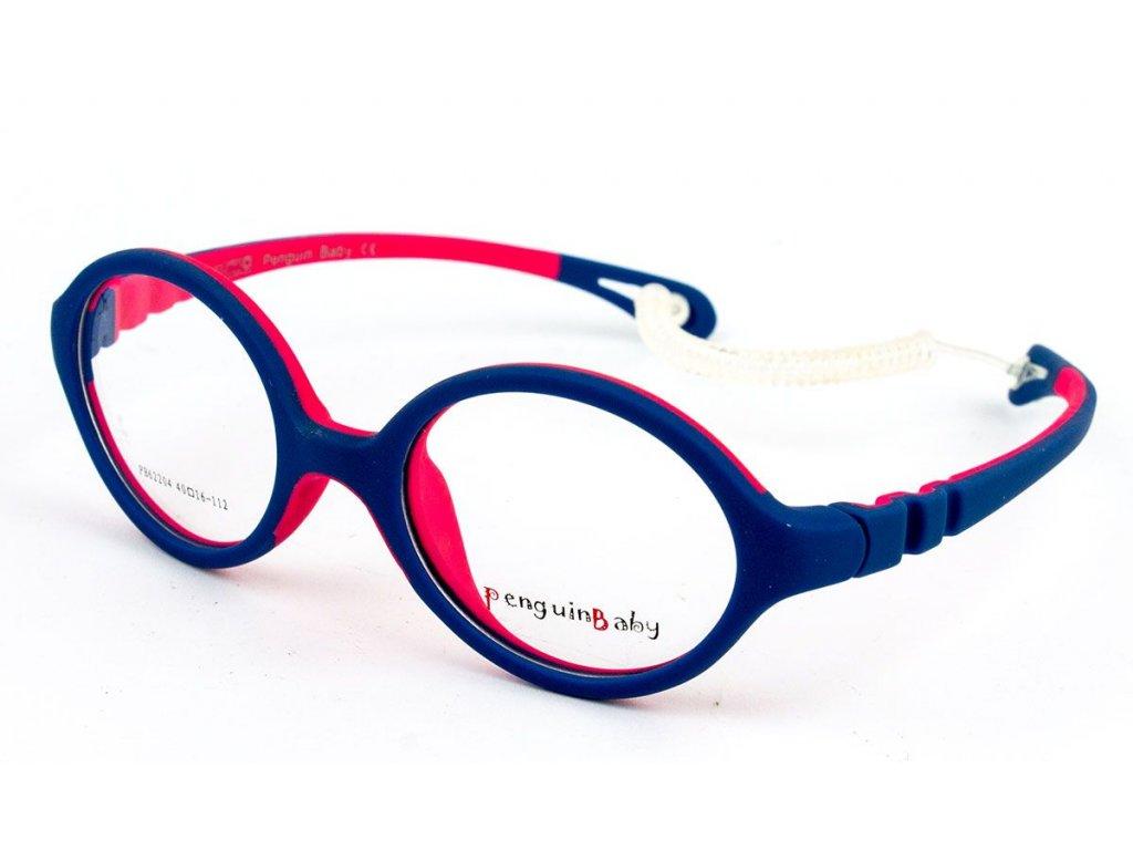 Dětské brýlové obroučky PB62203-C5 gumové