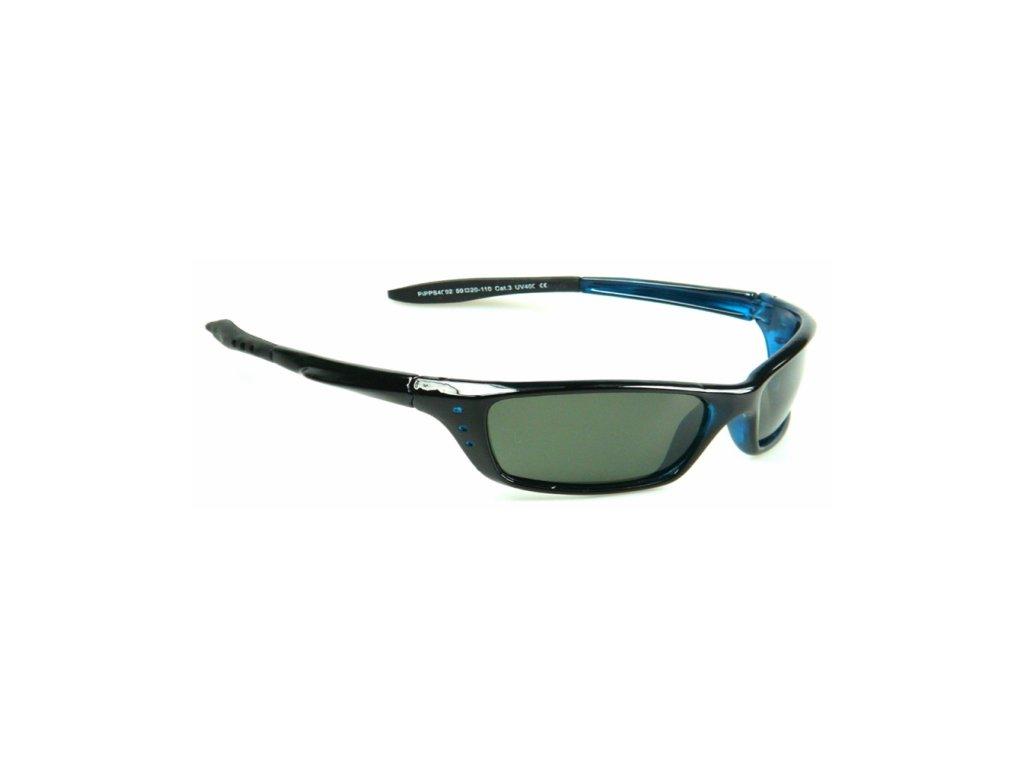 Polarizační brýle WITHGO 4002 zelené čočky modrá obruba Cat.3
