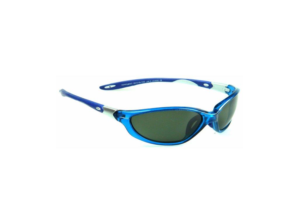 Polarizační brýle WITHGO 4007 zelené čočky modrá obruba Cat.3