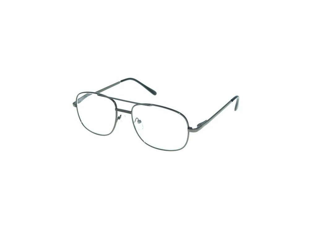 Dioptrické brýle M117 +1,00 DARK GREY