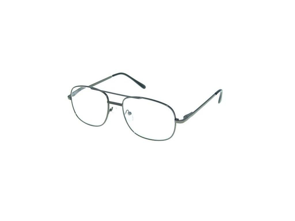 Dioptrické brýle M117 +1,50 DARK GREY