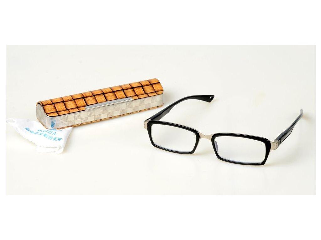 Dioptrické brýle BAIDA 3023 +1,50 s pérováním