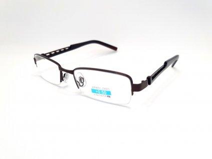 Dioptrické brýle M1.02/ +0,50 hnědý rámeček
