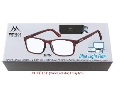 Brýle na počítač BLF BOX 73C bez dioptrií