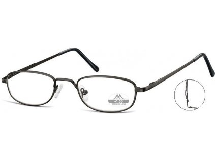 MONTANA EYEWEAR Dioptrické brýle s úchytem na kapsu MR63B +1,00