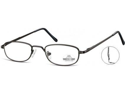 MONTANA EYEWEAR Dioptrické brýle s úchytem na kapsu MR63B +3,00