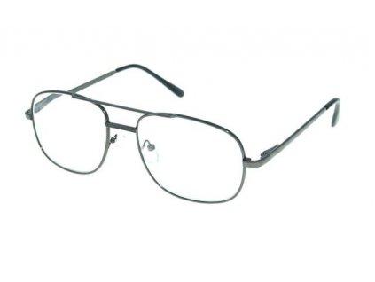 Dioptrické brýle M117 +5,00 DARK GREY