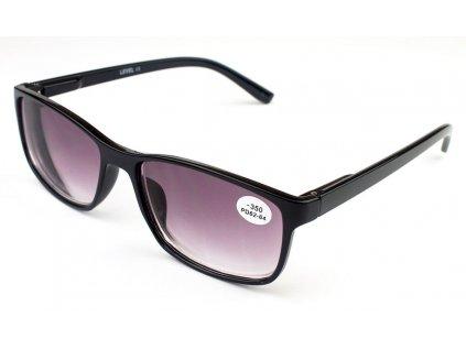 Dioptrické brýle Level 1606S C1 zabarvené -1,00