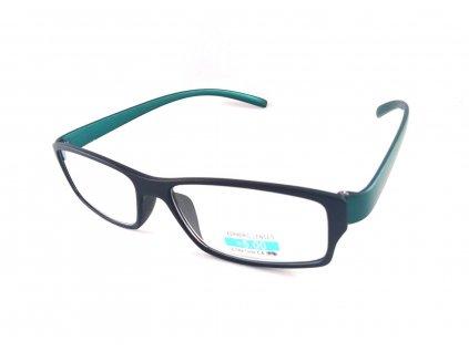 Dioptrické brýle P2.03/ +4,50 zelená nožička