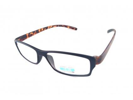 Dioptrické brýle P2.03/ +4,50 hnědá nožička