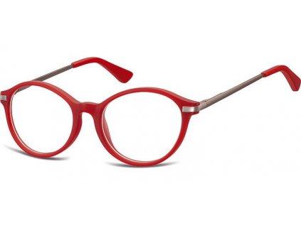 SUNOPTIC Dětské brýlové obroučky AK46 červené