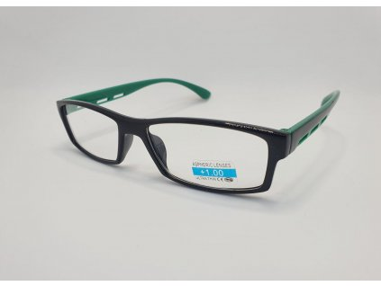 Dioptrické brýle 2R06/ +1,00 BLACK-GREEN