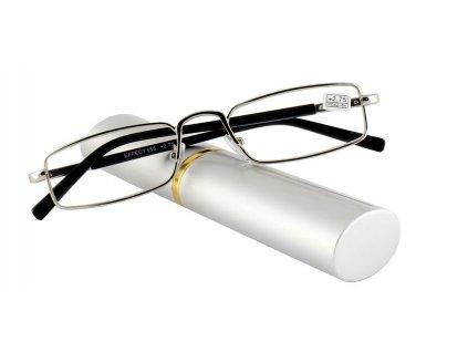 Dioptrické brýle v pouzdru Effect 555/ +3,75 SILVER