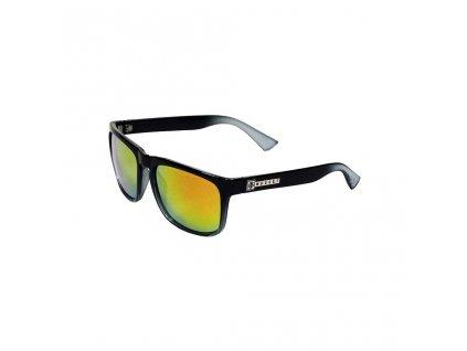 Sluneční brýle Nugget Shell Sunglasses D - Black, Orange
