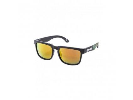 MEATFLY Meatfly Memphis 2 Sunglasses F - Rasta
