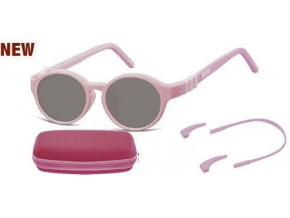 SUNOPTIC Dětské sluneční brýle (6-8let) flexibilní SK7B obroučky+ příslušenství + pouzdro