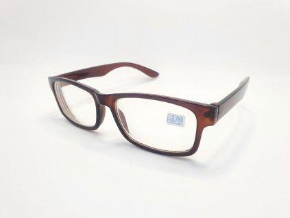 Dioptrické brýle na krátkozrakost 6242 / -2,00 BROWN